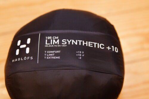 Schlafsack Haglöfs LIM Synthetic +10