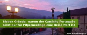 Sieben Gründe, warum der Caminho Português nicht nur für Pilgerneulinge eine Reise wert ist