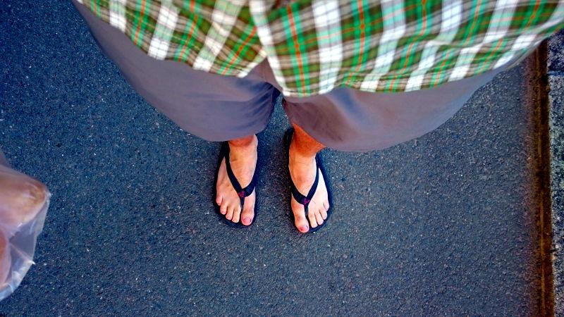 Die Sandalen von Vivobarefoot haben nicht nur abends ihren Zweck erfüllt...Barfuss Barfussschuhe kaufen